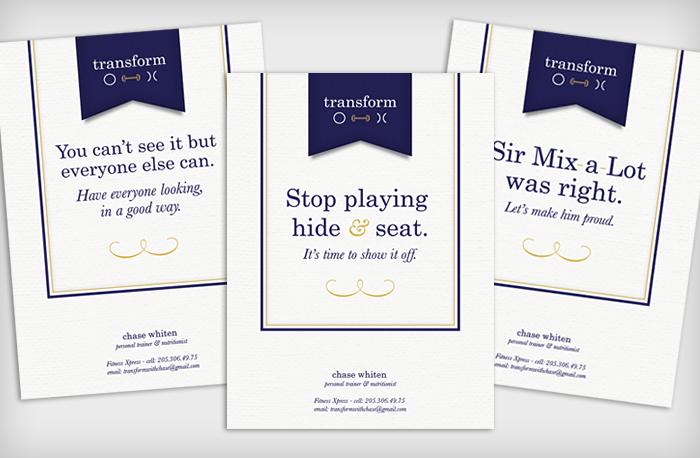 Transform Personal Training : Ads